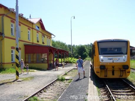 Fotka ze stanice Aš - město.