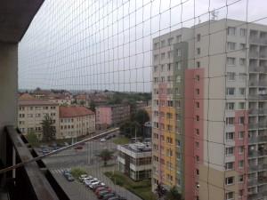Fotka pohledu k tramvaji