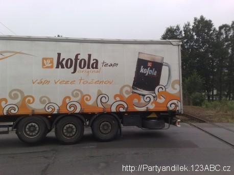Fotka z Krnova - Kofola.